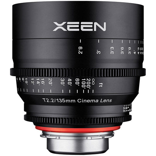 XEEN 135mm T2.2 Lens for Canon EF Mount