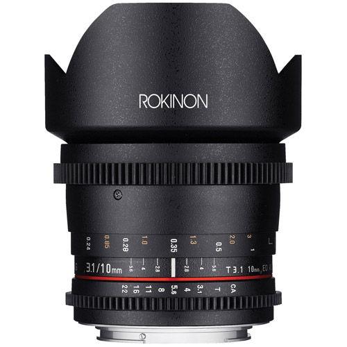 Cine DS 10mm T3.1 Cine Lens for Canon EF-S
