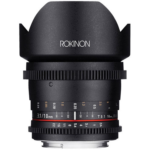 Cine DS 10mm T3.1 Cine Lens for Micro Four Thirds