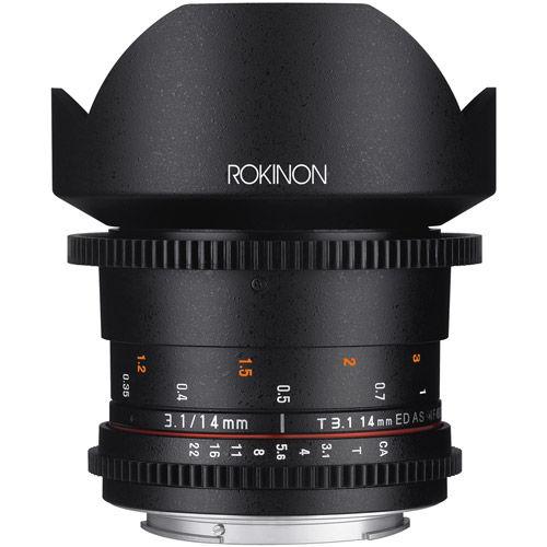 DS 14mm T3.1 Cine Lens for Canon EF