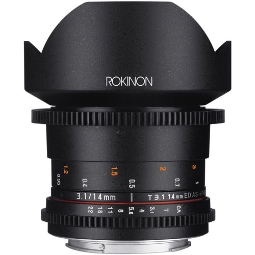 DS 14mm T3.1 Cine Lens for Nikon