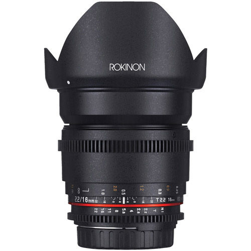 Cine DS 16mm T2.2 Cine Lens for Canon EF-S