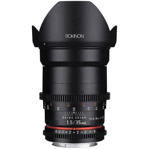 DS 35mm T1.5 Cine Lens for Canon EF