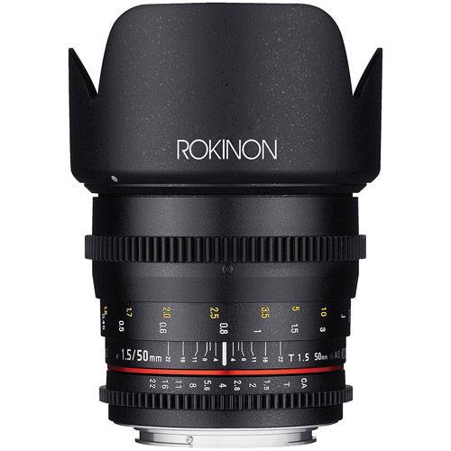 DS 50mm T1.5 Cine Lens for Canon EF
