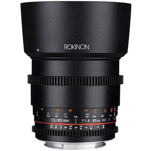 DS 85mm T1.5 Cine Lens for Canon EF