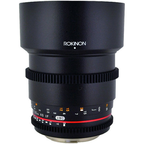 85mm T1.5 Cine Aspherical Lens for Canon EF Mount