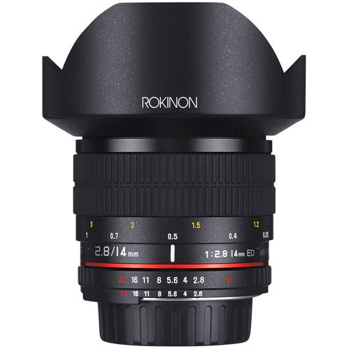 14mm F2.8 IF ED Super Wide Angle Lens for Canon EF Mount
