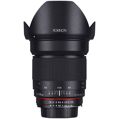24mm F1.4 ED UMC Wide Angle Lens for Canon EF Mount