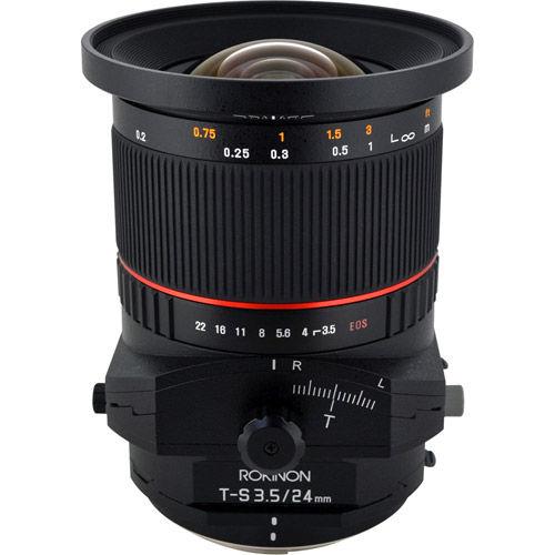24mm F3.5 Tilt Shift Lens for Canon EF Mount