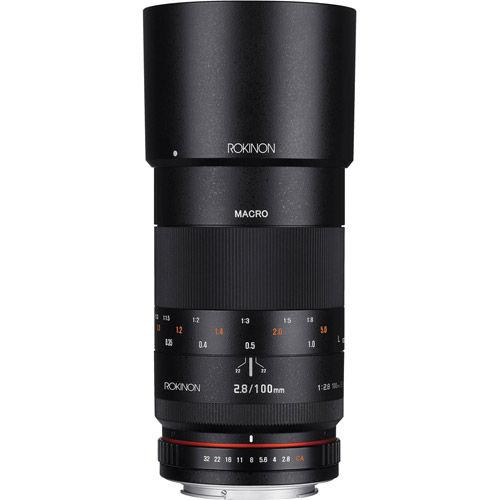 100mm F2.8 Full Frame Macro Lens for Nikon w/Built in AE Chip