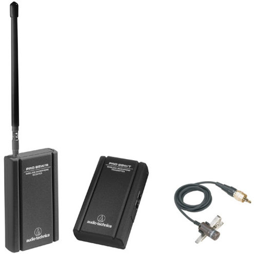 PRO 88W-829 Camera Mountable VHF Lavalier Pro 88W VHF Wireless System