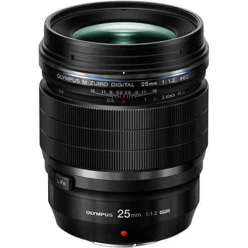 M.Zuiko ED 25mm f/1.2 PRO Lens Black