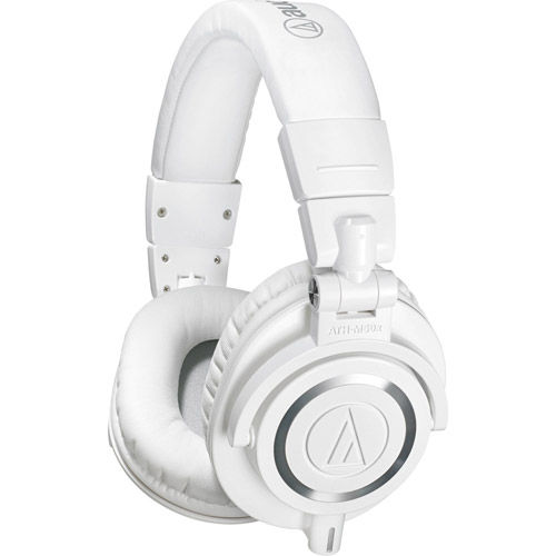 ATH-M50xWH Professional Monitor Headphones - White