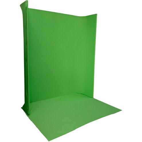 LG-1822U Green Screen Background Kit 1.8 m x 2.2 m