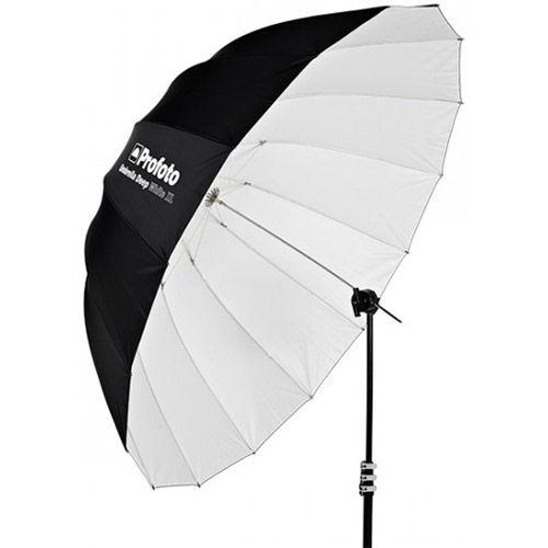 "Umbrella Deep White XL, 165 cm 65"""