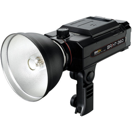 BRiHT-360 TTL Lithium-Ion Self Contained Flash Head with BR-120 Standard Reflector