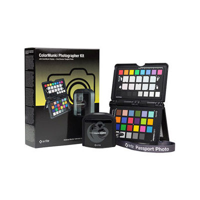 ColorMunki Photographer Kit - ColorMunki + ColorChecker Passport Bundle