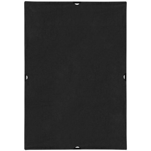 Scrim Jim® Cine 4' x 6' Solid Black Block Fabric