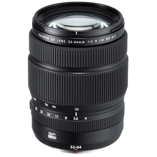 Fujinon GF 32-64mm f/4.0 R LM WR ZoomLens