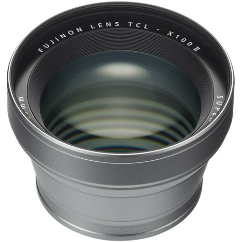 TCL-X100S II Tele Conversion Lens for X100 Series (Silver)