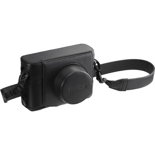LC-X100FB Black Leather Case for X100F