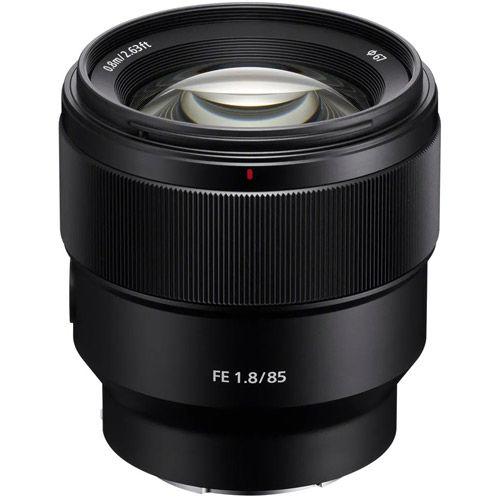 SEL FE 85mm f/1.8 E-Mount Lens