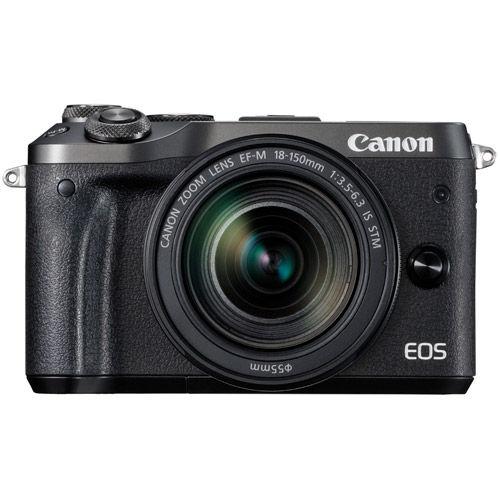 EOS M6 Mirrorless Camera Kit w/ EF-M 18-150mm f/3.5-6.3 IS STM - Black