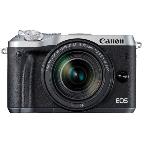 EOS M6 Mirrorless Camera Kit w/ EF-M 18-150mm  f/3.5-6.3 IS STM - Silver