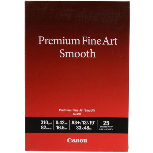 """13""""x19"""" FA-SM1 Premium Fine Art Smooth Paper 25 Sheets"""