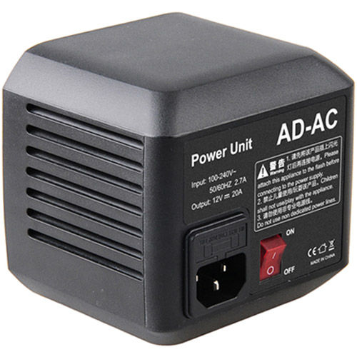 AC Adapter for AD600 Flash