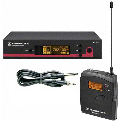 Sennheiser EW172G3-G SK100 G3 Bodypack Transmitter, Ci1 Cable and EM100 G3  Receiver (566-608 MHz)