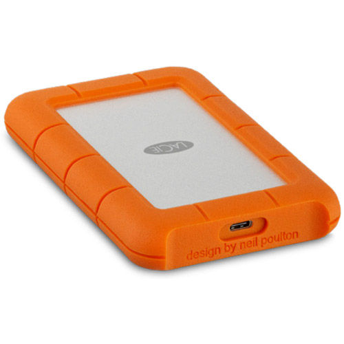 "4TB Rugged 2.5"" External Hard Drive USB-C"