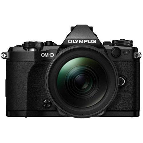 OM-D E-M5 Mark II Mirrorless Black Body w/ M.Zuiko ED 14-150mm f/4-5.6 II Lens
