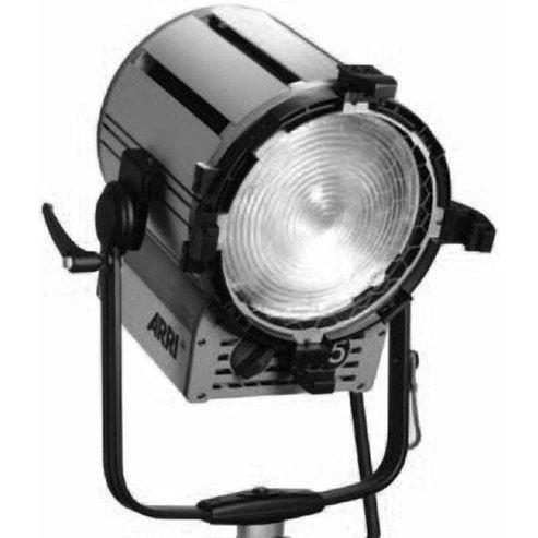 "ST5 5000W Studio Fresnel, Stand Model, Black, 12"""