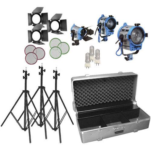 150/300/650w Compact Fresnel Kit