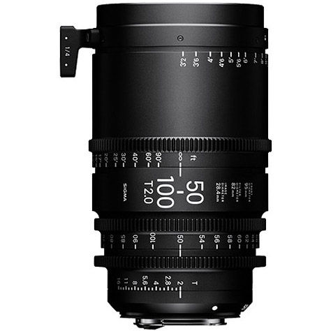 50-100mm T2 Cine Lens for Canon EF Mount Super 35mm Format