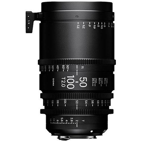 50-100mm T2 Cine Lens for Sony E Mount Super 35mm Format