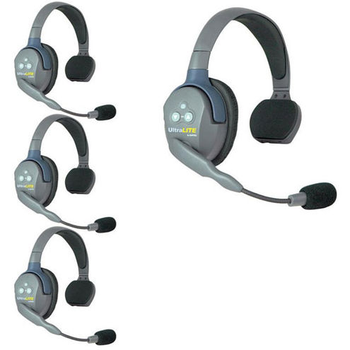 UL4S UltraLITE 4-Person Headset System w/ Batteries, Charger & Case (Single)