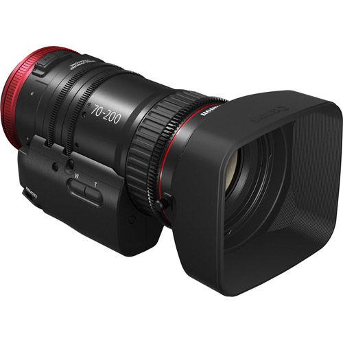 CN-E 70-200mm T4.4 L IS EF Mount + ZSG- 10 Grip  Zoom  Grip for Compact - Servo