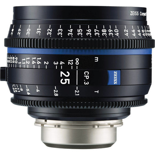 CP.3 T2.1/25mm Lens - EF Mount (Feet)