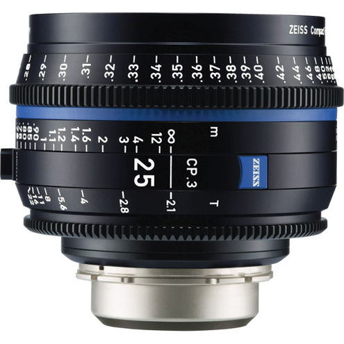 CP.3 T2.1/25mm Lens - EF Mount (Feet)