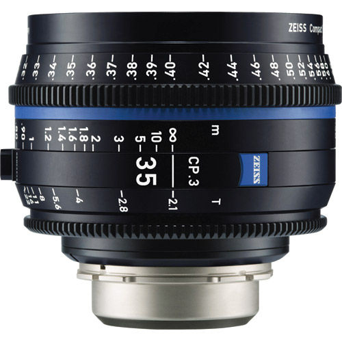 CP.3 T2.1/35mm Lens - E Mount (Feet)
