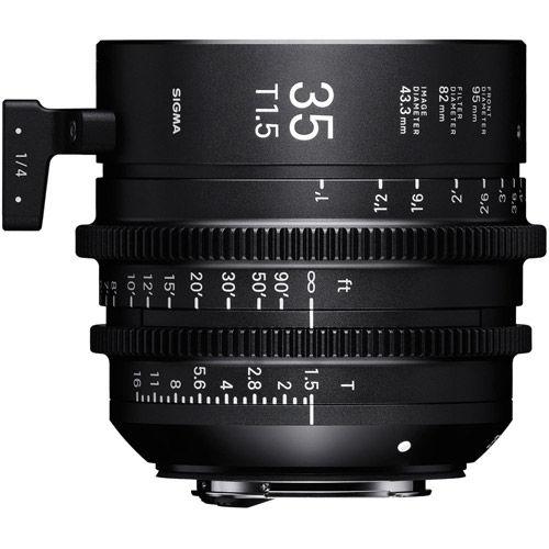 35mm T1.5 FF Cine Lens for Sony E Mount