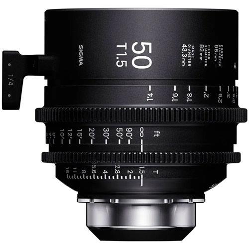 50mm T1.5 FF Cine Lens for Canon EF Mount