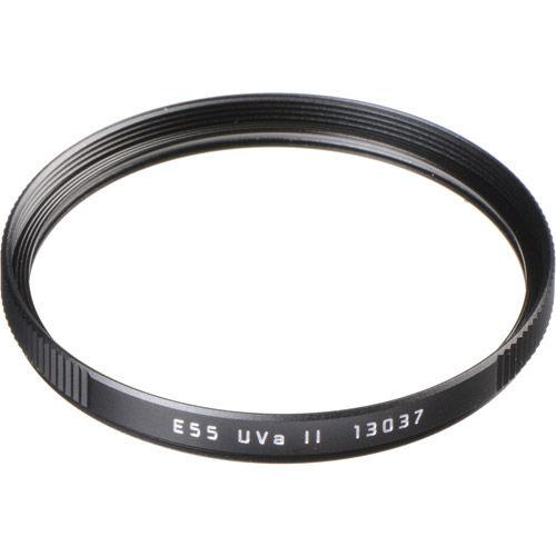 E55  UVa II Filter, Black