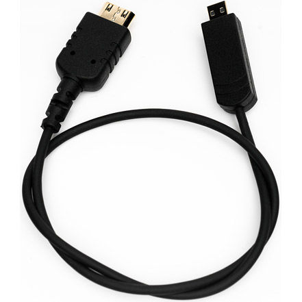 CBL-SGL-HDMI-MINI-MICRO-12 Thin Micro-HDMI Type D to Mini-HDMI Type C Cable (FOCUS On-Cam Monitor)