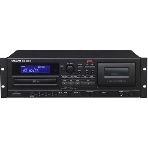CD-A580 Cassette, USB & CD Player/Recorder