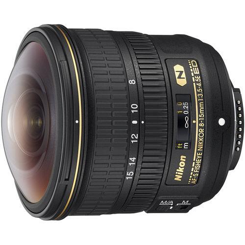 AF-S Fisheye-NIKKOR 8-15mm f/3.5-4.5 E ED Lens