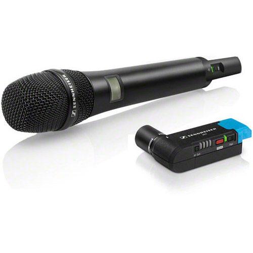 AVX-835 SET-4-US Handheld Set: Incl. Handheld Transmitter w/ e835 Capsule & EKP Plug-on Receiver