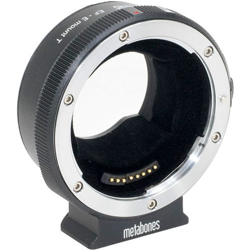 Canon EF to E-mount T V Lens Adapter (Black Matt)